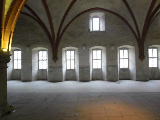 Kloster Eberbach: Mönchs-Dormitorium