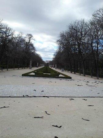 Parque del Retiro: Paseo de las Estatuas