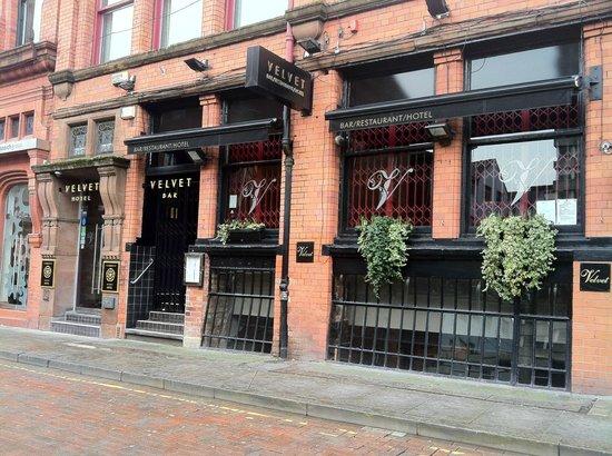 Velvet: outside the canal street entrance