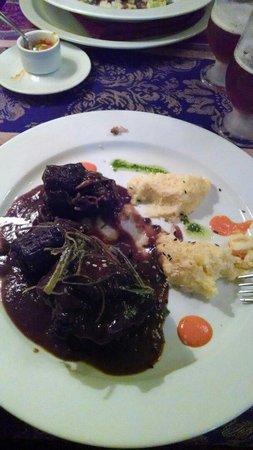 Restaurante Tandory: Rabo - rabada com polenta..muito boa