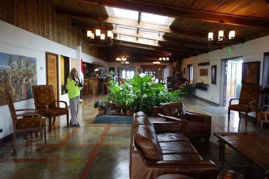 Villa Blanca Cloud Forest Hotel and Nature Reserve: Hotel Area