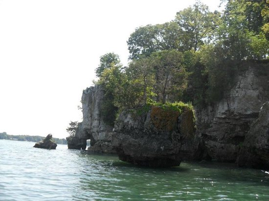 South Bass Island: This was the small island we kayaked around.