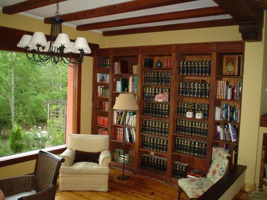 La Casita de Cabrejas: Biblioteca