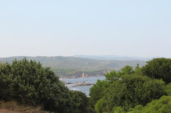 Camping La Liccia: Вид на пляж
