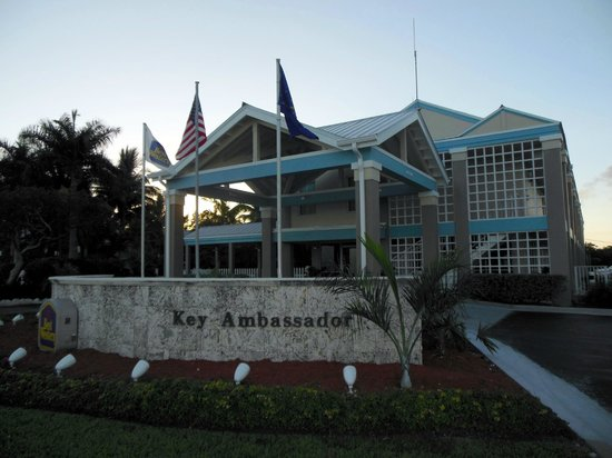 BEST WESTERN Key Ambassador Resort Inn: Entrance Best Western Key Ambassador