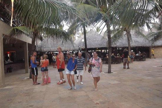 Flat VG Fun na Praia do Futuro em Fortaleza - CE : Saindo da barraca