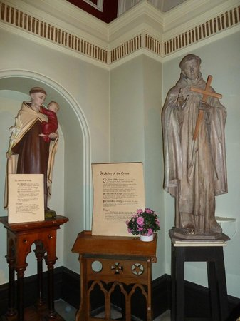 St. Teresa's Church: St Albert of Sicily & St John of the Cross