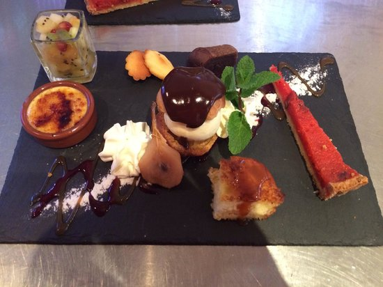 LE RIVA cafe : Café Gourmand