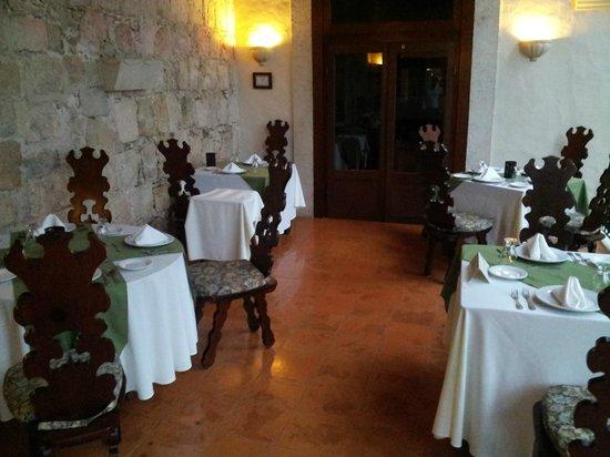 Hacienda Chichen: la terrasse du restaurant