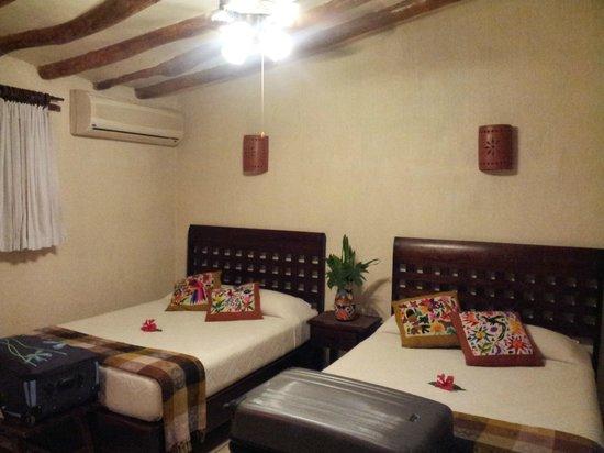 Hacienda Chichen : notre chambre