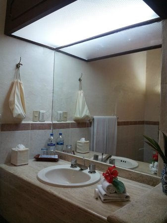 Hacienda Chichen: la salle de bains