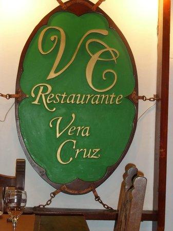 Vera Cruz : el logo de restaurante