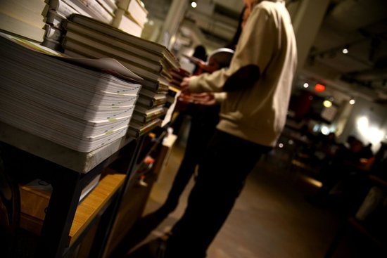 Art of Intuitive Photography: A bookstore inside Eataly - A lesson in photographing without reviewing