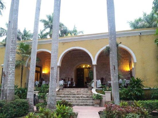 Hacienda Chichen: entrée de l'hôtel