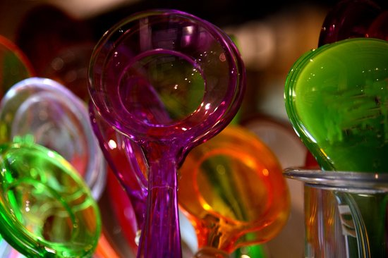 Art of Intuitive Photography: Colored Plastic Spoons-  A lesson in gravitating toward what draws you.