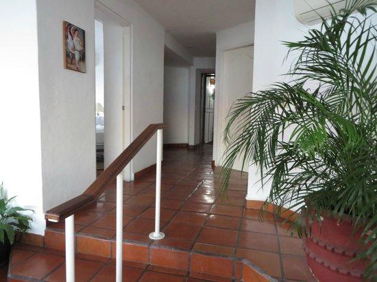 One Beach Street: Hallway