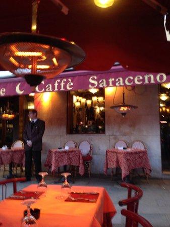 Caffe Saraceno : Frente do restaurante