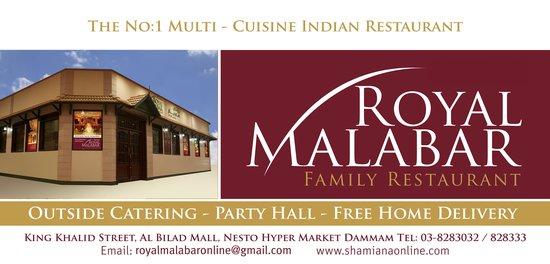 ROYAL MALABAR RESTAURANT- DAMMAM - Restaurant Reviews, Phone