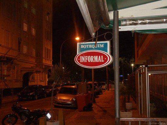 Botequim Informal: Visão Rua