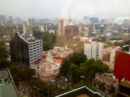 Hyatt Regency Mexico City: The view from my 23rd floor room