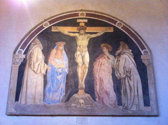 Cenacolo di Sant'Apollonia: Crocifissione di Andrea del Castagno a Sant'Apollonia