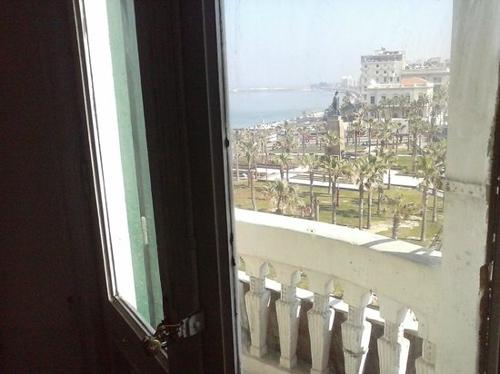 Hotel Transit Alexandria : View from balcony