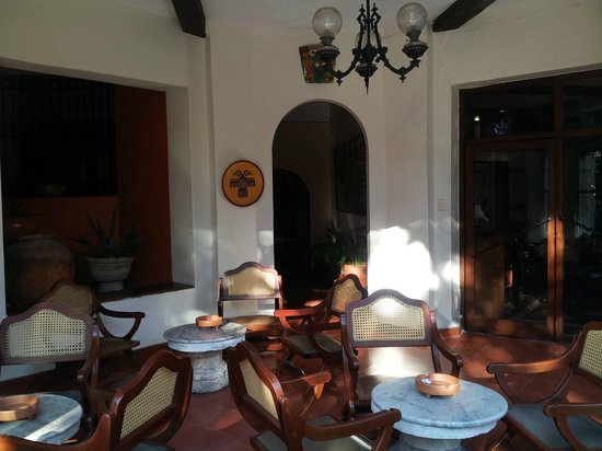 Hotel Casa del Balam : un espace de repos