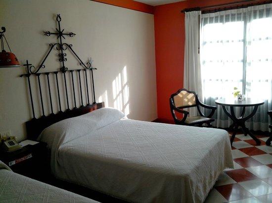 Hotel Casa del Balam : notre chambre