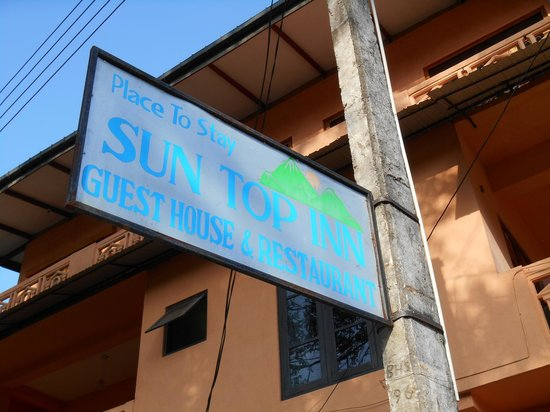 Sun Top Inn: Place to Stay