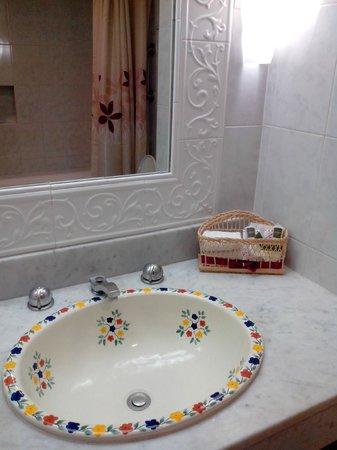 Hotel Casa del Balam : la salle de bains