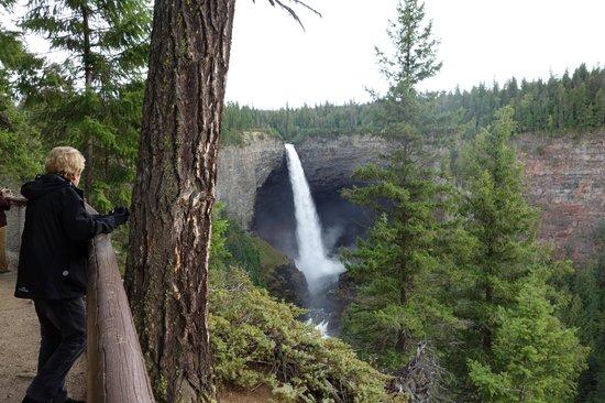 Helmcken Falls: The falls