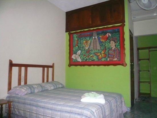San Benito, Guatemala: ME ENCANTA EN ESTA DORMI