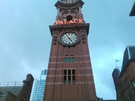 The Palace Hotel : The Palace Clock Tower