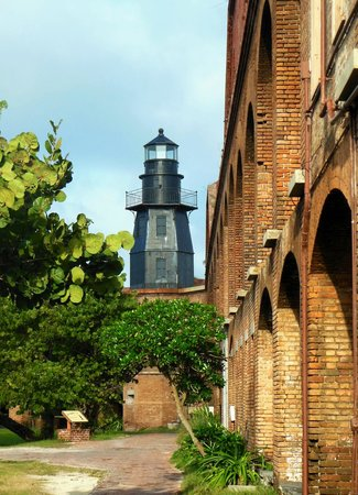 Dry Tortugas National Park: Lighthouse at Fort Jefferson