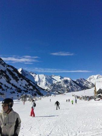 Mercure Saint Lary Sensoria: les pistes de Saint Lary