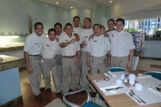 Gran Caribe Resort: The wonderful people at the GAVIOTAS Restaurang