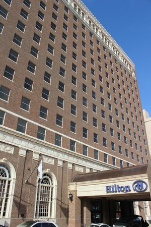 JFK Tribute: Hotel Texas (now a Hilton) Where JFK and Jackie Spent Their Last Night Together