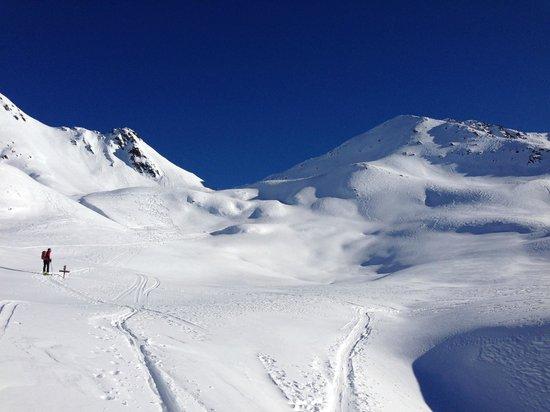 AROSEA Life Balance Hotel: ideale Lage des Hotels für Skitouren