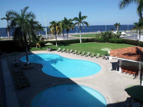 Gamma Campeche Malecon: vue de notre chambre
