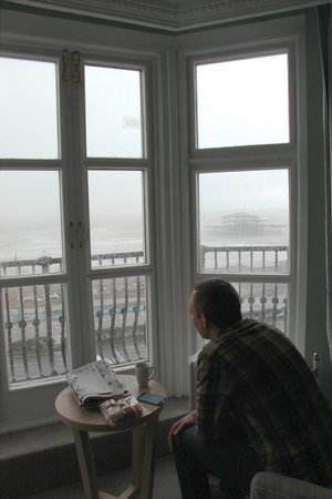 The Grand Brighton: View from room - old pier