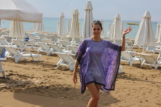 Sueno Hotels Beach Side: пляж