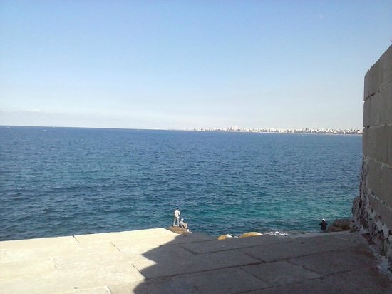 Fort Qaitbey: Sea view