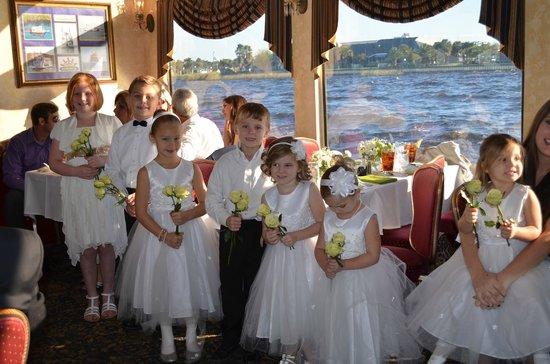 St Johns Rivership Company : Flower girls and boys
