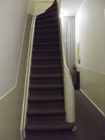 Hotel Wilhelmina: Escaleras
