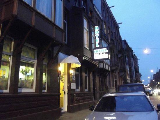 Hotel Wilhelmina: Fachada