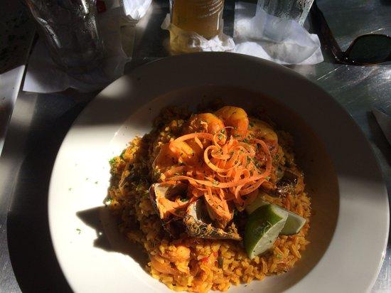 Cafe La Princesa: Delicious pasta seafood dish