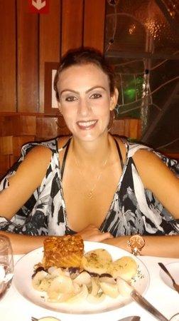 Restaurante Barbacoa : Degustando Bacalhau