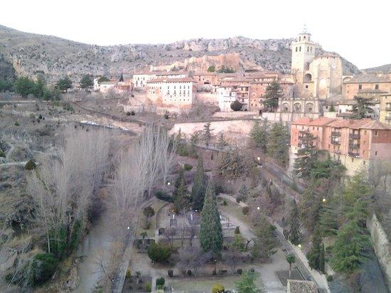 Hotel Albarracin: vista desde la habitación