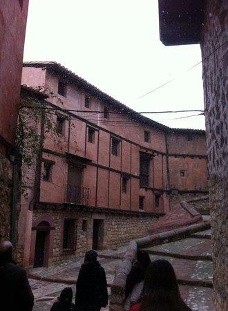 Hotel Albarracin: una calle