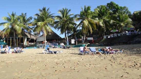 Casa Marina Beach & Reef: La plage côté restaurant